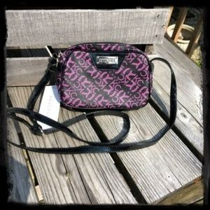 Kenneth Cole Reaction Bags - Purple/Black Kenneth Cole Crossbody! NEW